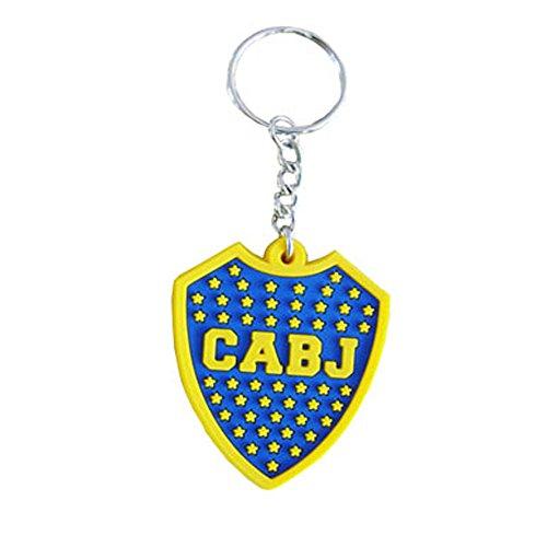 Boca Juniors Key Ring, blau, Einheitsgröße -