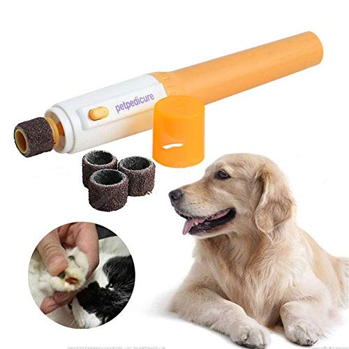 GUDEMN Elektrische Hund Katze Pet Claw Toe Nagel Trimmer Klaue Pflege Grinder Pet Clipper Grooming Tool