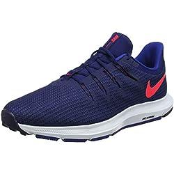 Nike Quest, Zapatillas de Running para Hombre, Azul (Blue Void/Red Orbit/Indigo Force/White 403), 41 EU