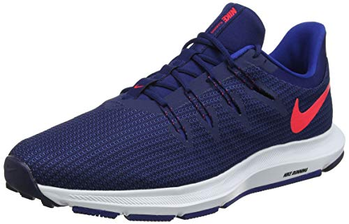 newest 43032 f6e42 Nike Men s Quest Running Shoes, Blue (Blue Void Red Orbit Indigo Force