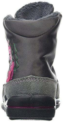 Ricosta Ruby, Bottes courtes avec doublure chaude fille Gris - Grau (patina 459)