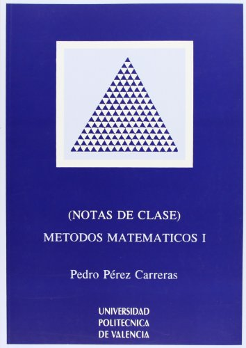 Descargar Libro Métodos Matemáticos I de Pedro Pérez Carreras