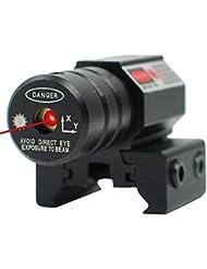 Mirino Laser, Greyghost Punto Rosso Puntamento Raggio Luminoso Vista, Campo Visivo per Pistola Fucile A Caccia