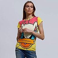 Character T-Shirt For Women - Yellow