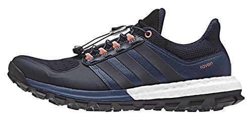 adidas Damen Raven W Laufschuhe, Azul/Rojo (Azumin/Maosno / Brisol), 41 1/3 EU