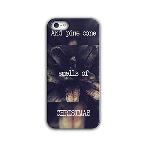 Kiefer Kegel Baum Weihnachten Ferien iPhone 5 / 5S Hülle   Wellcoda (Kegel Kostüme Für Halloween)