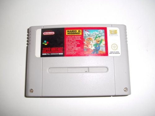 Mario is Missing SNES