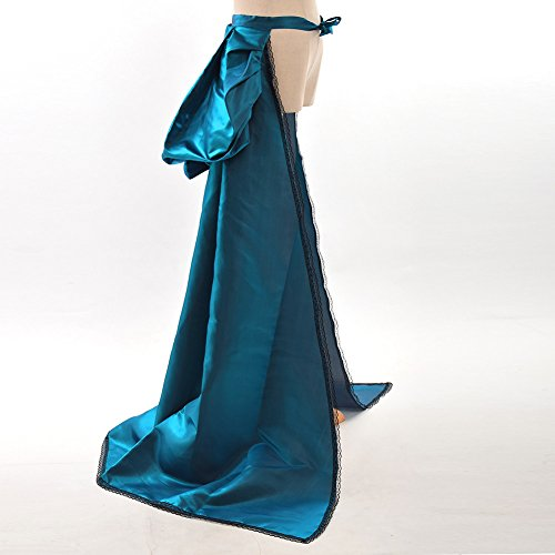 GRACEART Burleske Schleppend Overskirt Treiben Zug Rokoko Kleid Blau