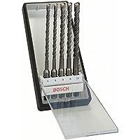 Bosch Hammerbohrer 5tlg. Robust Line Set SDS-plus-5, (Gesamtlänge 165 mm, Arbeitslänge 100 mm), 2607019928