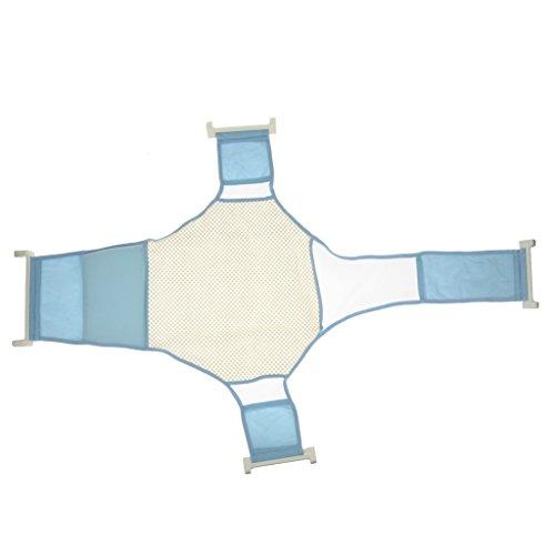 Blau Baby Newborn Bad Sicherheitsnetz Babymassage Bade Unterstützung Badewanne - Baby Unterstützung Badewanne