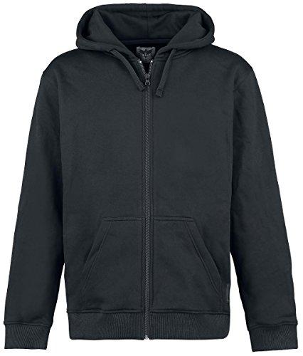 Black Premium by EMP Basic Zipper Felpa jogging nero M