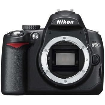 Nikon D5000 Appareil photo numérique Reflex 12.3 Boîtier nu Noir