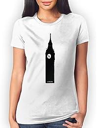 London Big Ben Mujer T-Shirt