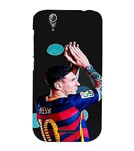 For Acer Liquid Z630 man ( man, footbollar, black background, sports man, sports ) Printed Designer Back Case Cover By TAKKLOO