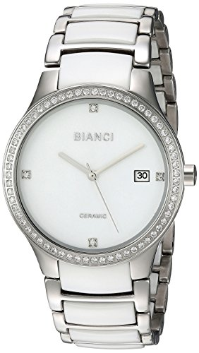 ROBERTO BIANCI WATCHES Women's 'Balbinus' Quartz Stainless Steel Casual Watch, Color:Two Tone (Model: RB2942)