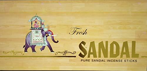 Fresh Sandal Incense Sticks (Pack of 12)