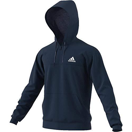adidas Herren SPT Full Zip Sweatshirt, Mehrfarbig (Maruni/Blanco), S - Zip Jumper