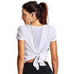 CRZ YOGA Camiseta de manga corta para Yoga