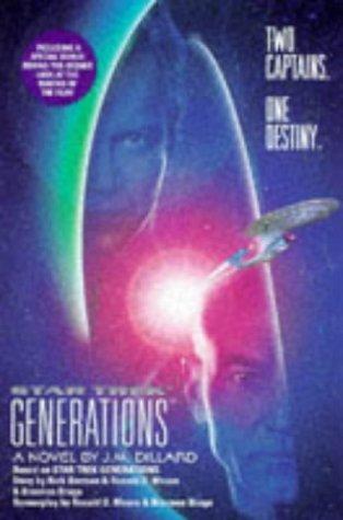 Star Trek Generations (Star Trek The Next Generation) by J. M. Dillard (1994-12-01)