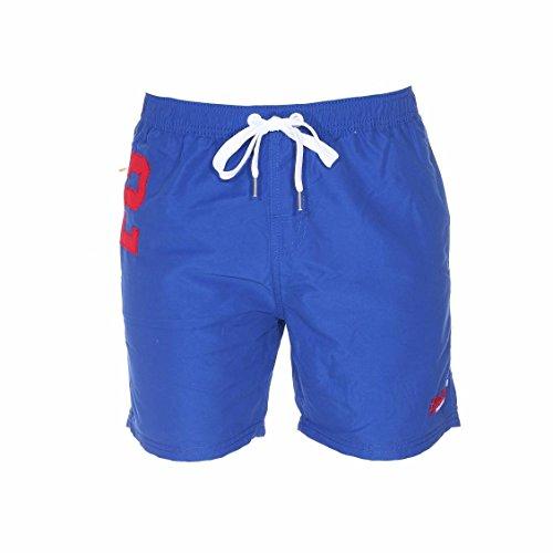 Superdry -  Pantaloncini - Uomo blu Small