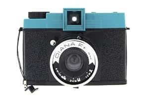 Lomography Diana F+ Caméra vidéo Noir, Bleu