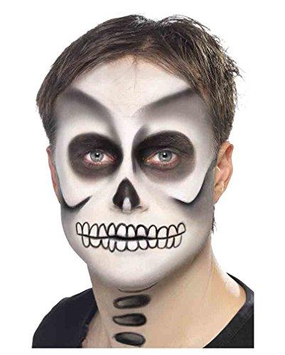 Totenkopf Make Up Set