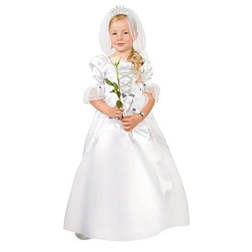Kinder Kostüm Braut 7-9 J. (Kostüme Kinder Für Braut)
