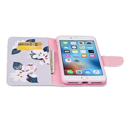 Mo-Beauty, Borsa a spalla donna White,Peach blossoms iPhone 7 Plus White,Peach blossoms