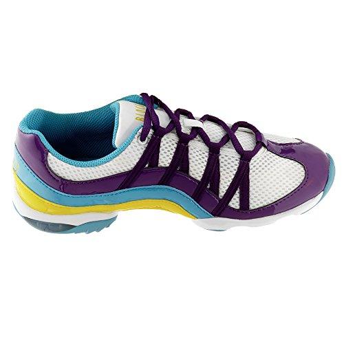 Bloch 523 Wave Tanz Sneaker Lila Größe 39 1/3
