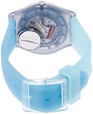 Swatch Reloj Digital para Unisex de Cuarzo con Correa en Silicona GM185 de Swatch