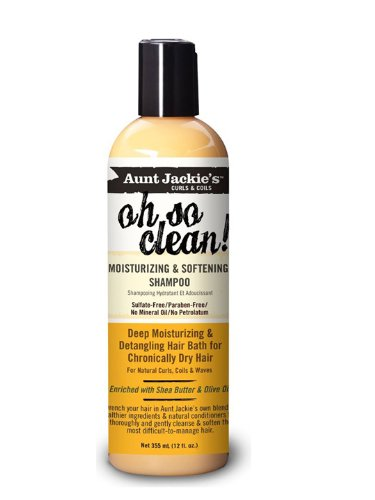 Aunt Jackie's oh so clean! 6oz - Moisturizing & Softening Shampoo by Aunt Jackie's