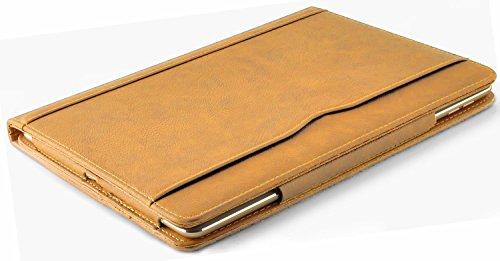 K-Tec Mini iPad Caso - Il Lusso Marrone Chiaro e