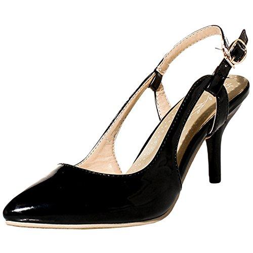 Azbro - Scarpe con cinturino alla caviglia Donna Verde