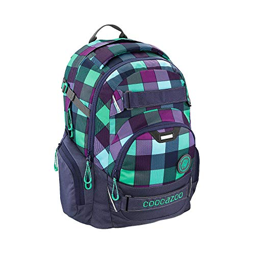 COOCAZOO 138740 CarryLarry2 Green Purple District