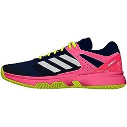 adidas Adizero Court Padel W, Zapatillas de Tenis para Mujer, Multicolor (Acetec / Ftwbla / Rojdes), 39 1/3 EU