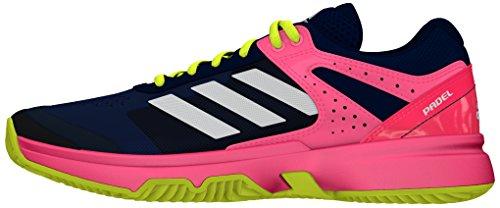 adidas Adizero Court Padel W, Scarpe da Tennis Donna Multicolor (Acetec / Ftwbla / Rojdes)