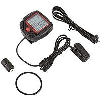 Heraihe SUNDING SD-546B Wired Multifunctional Bicycle Computer Mini Odometer Stopwatch Portable Digital LCD Waterproof Speedometer