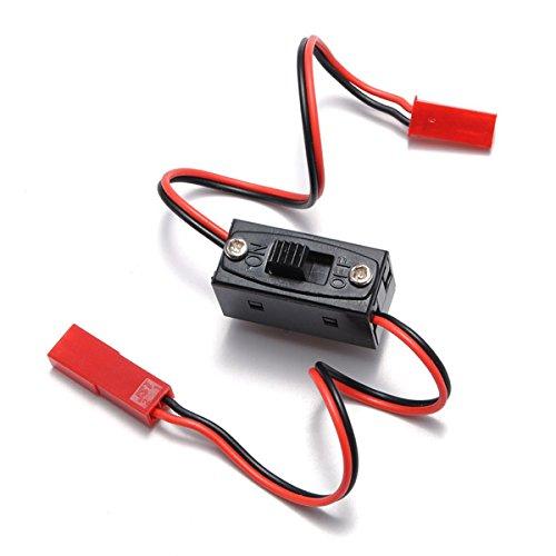 Bluelover Ein/Aus-Schalter-Stecker-Stecker Jst Männlich Weiblich Draht Rc Li-Po Batterie