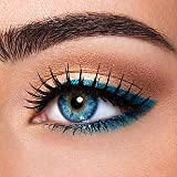 #8: I-Look Deep Blue Colour Monthly Contact Lens (Zero Power) With 30 Ml Contact Lens Solution