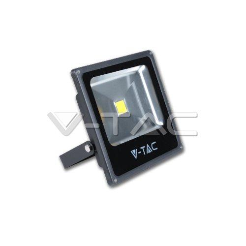 LED Projecteur 50W 4000lm Ultra Slim Blanc