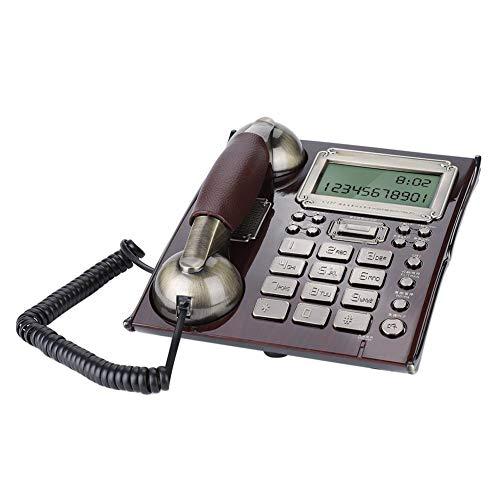 Teléfono Fijo de Pared Retro de Estilo Europeo