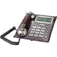 Teléfono Fijo de Pared Retro de Estilo Europeo, Teléfonos con Cable Antiguos del Vintage para Hogar,Oficina,Hotel(B)