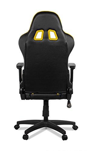 Arozzi Gaming silla Mezzo Negro/Amarillo