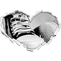 belli tulipani a forma di cuore narcisi nel formato aspetto, parete o adesivo porta 3D: 62x43.5cm, autoadesivi della parete, decalcomanie della parete, decorazione della parete - Bella Narciso