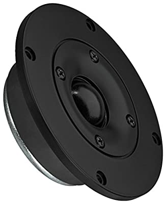 Monacor 8Ohm 100 WMAX 45 WRMS Hi-Fi Dome Tweeter