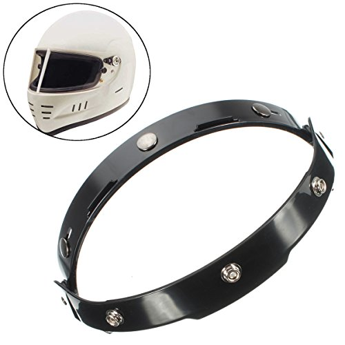 AVANI EXCHANGE 3 Snaps Shield Bubble Motorrad Helm Rahmen Flip Up Base Visier Adapter
