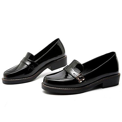 Zanpa Girls Ecole Normal Escarpins Black