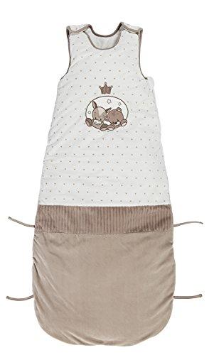 Nattou Schlafsack Baby ganzjährig Mädchen und Jungen, 90-110 cm - Max, Noa und Tom