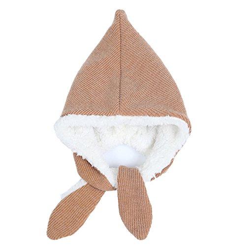 COIN Unisex Baby Mütze Warm Winter Hut Kappe mit Mikrofleece Geschützte Ohren für Mädchen Jungen, 44~50 cm Kappenumfang