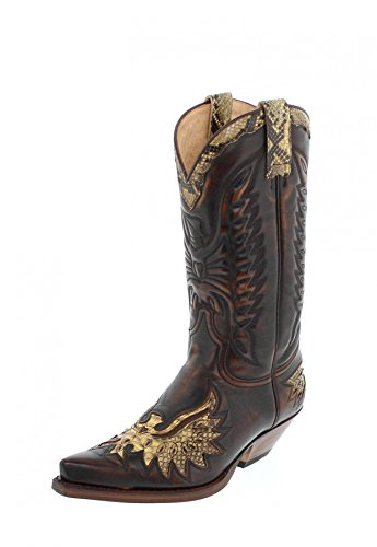 Sendra Boots 7106P, Stivali uomo Marrone marrone, Marron Pyton Amarillo, 41